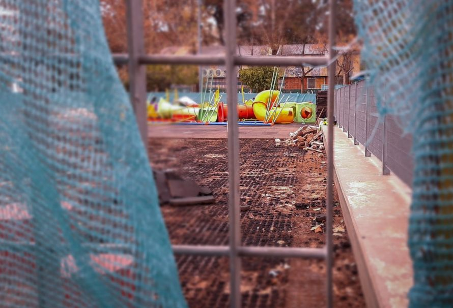 Plaza Irlanda: tercer arreglo del patio de juegos en cinco años